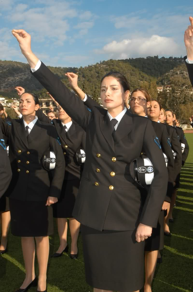 BUCHAREST, Romania - Travel and Tourism Information Photos of military women in uniform