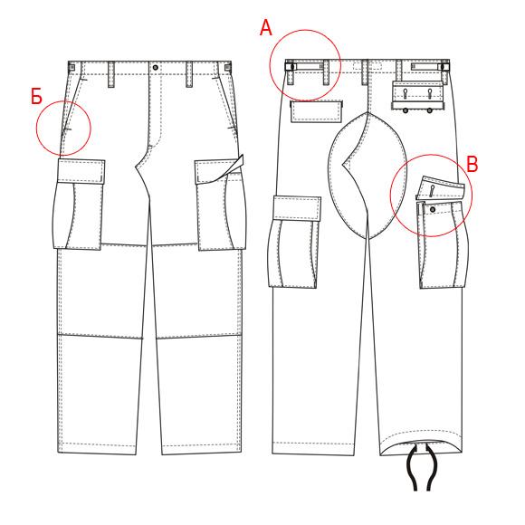 Тактические брюки своими руками 47